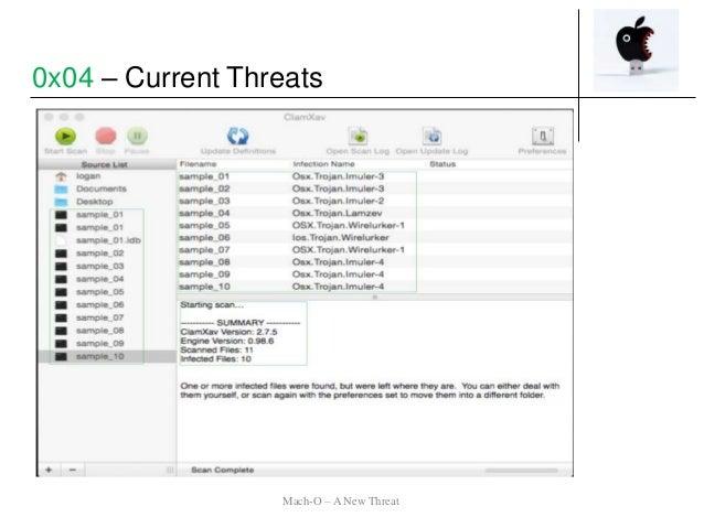 0x04 – Current Threats Mach-O – A New Threat