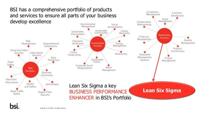 BSI Lean Six Sigma Programmes - A Short Overview Presentation Slide 3