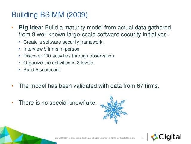 Building security in maturity model