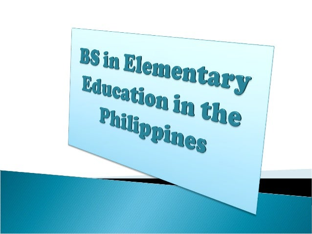 Bachelorof ElementaryEducation is a programdesigned to prepare studentsto teach all subjects in theelementary level. This...