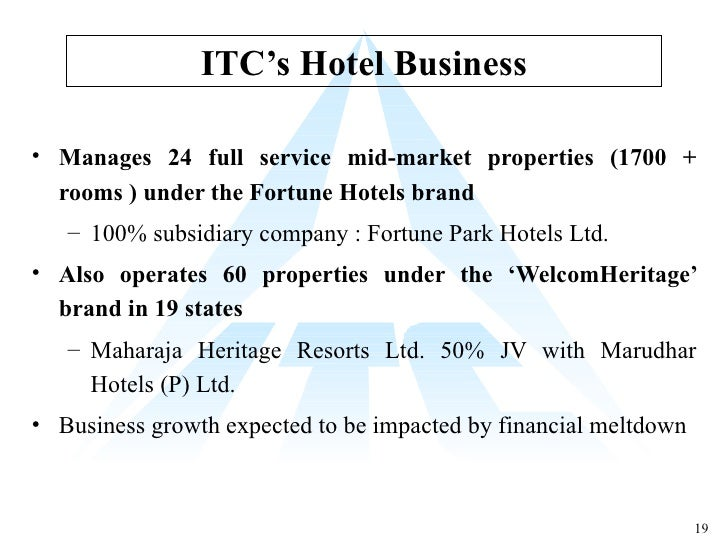 competitive analysis of itc hotels How popular is itc-hotel get traffic statistics, rank by category and country, engagement metrics and demographics for itc-hotel at alexa.