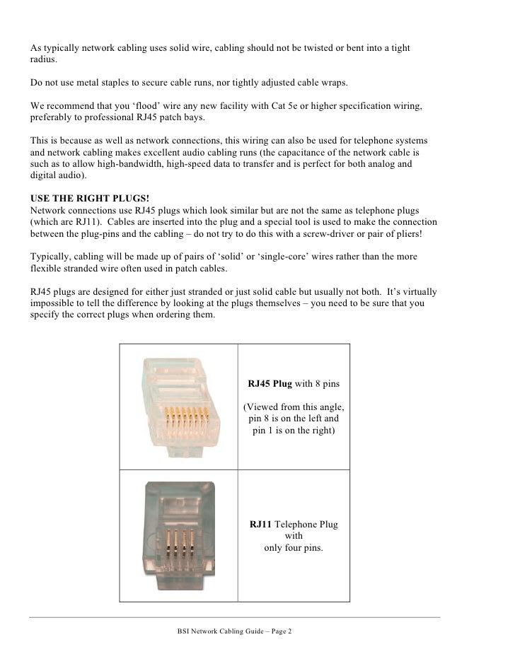 Network Cabling Guide   Cat5, Cat6, Cat7