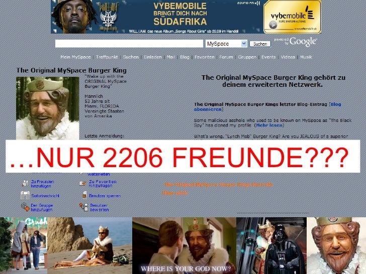 … NUR 2206 FREUNDE???