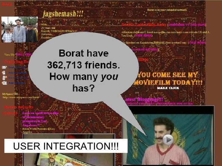 USER INTEGRATION!!!
