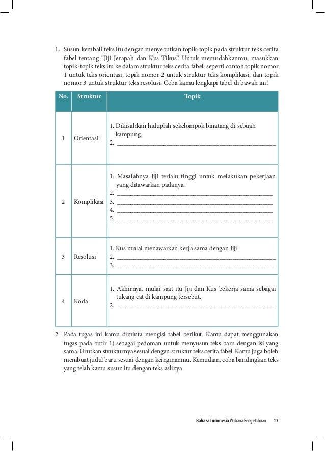 Buku Siswa Bahasa Indonesia Kelas Viii Smp Kurikulum 2013