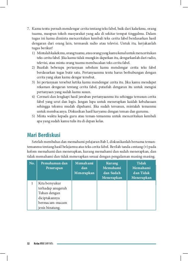 Jawaban Buku Paket Bahasa Indonesia Kelas 11 Halaman 153