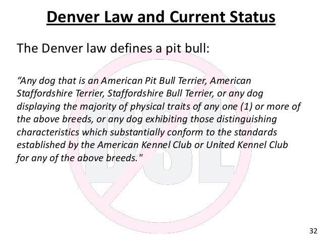 Dog Bite Law Breed Specific Legislation