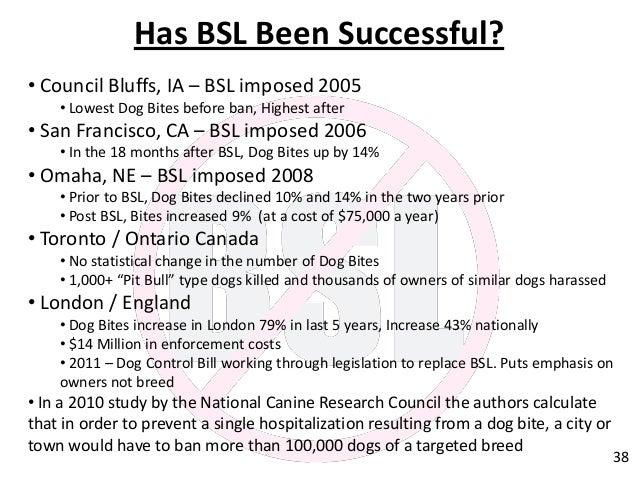 Bsl law regulations