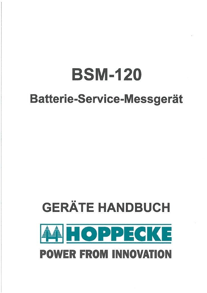 Bsm120 1a5