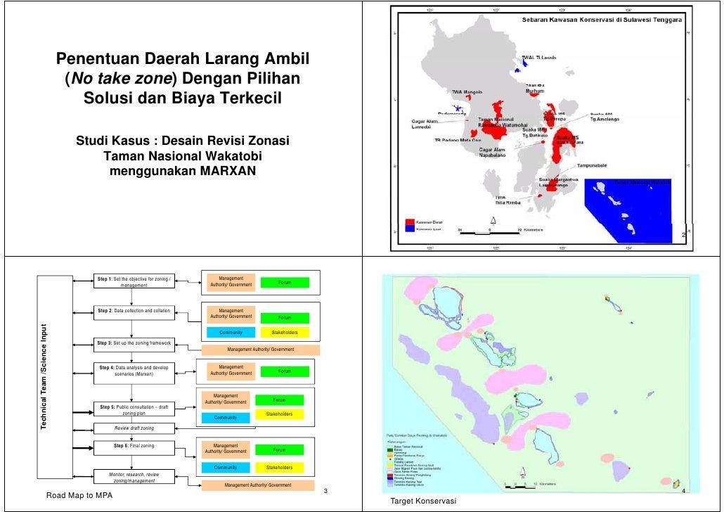 Penentuan Daerah Larang Ambil                                  (                                  (No take zone) Dengan Pi...
