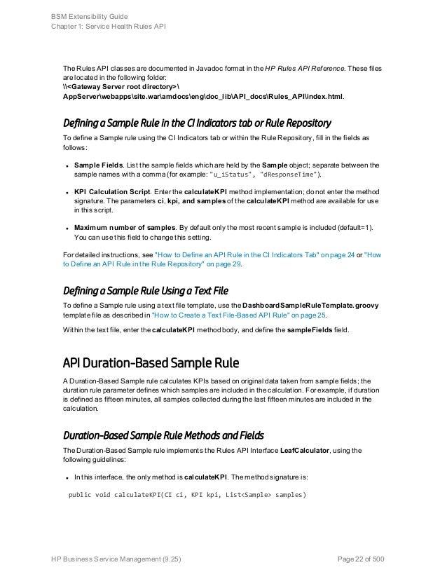 bsm extensibility - Asset Manager Resume Sample