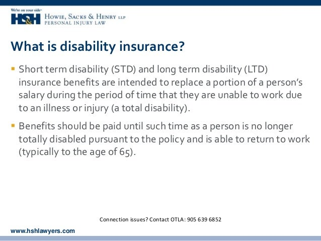 Short Term Disability : Long term disability for law clerks by brad moscato and
