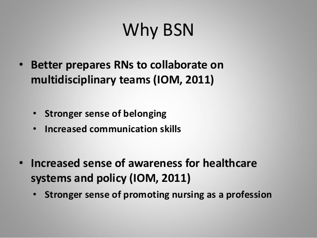 educational preparation bsn versus a diploma Adn vs bsn: which should you choose tweet: when completing a diploma program (the exam to become an rn), however, no degree is obtained adn vs bsn.