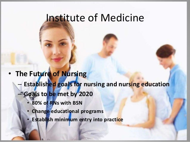 iom future of nursing