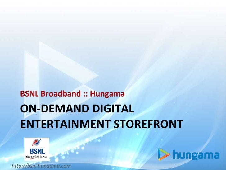 ON-DEMAND DIGITAL ENTERTAINMENT STOREFRONT