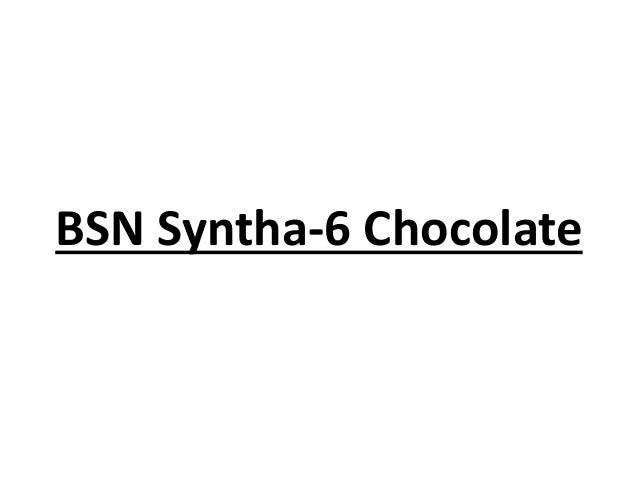 BSN Syntha-6 Chocolate
