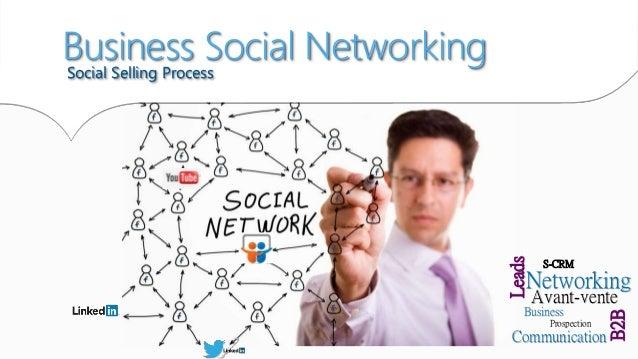 S-CRM Avant-vente Prospection Business Networking Leads Communication B2B Social Selling Process Business Social Networking