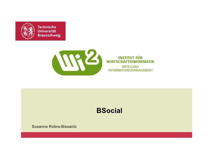 BSocialSusanne Robra-Bissantz