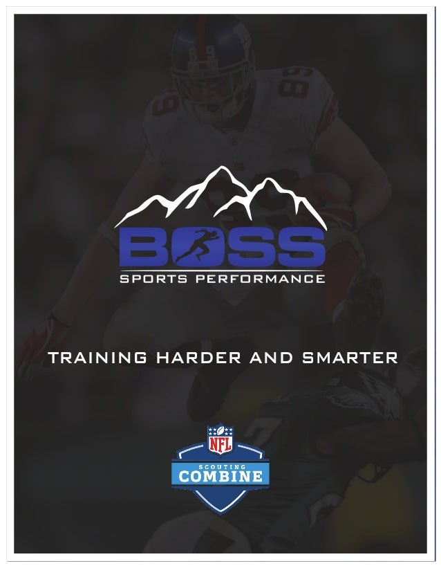 TRAINING HARDER AND SMARTER