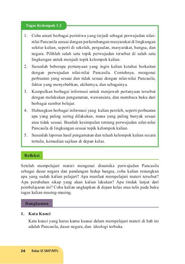 Kunci Jawaban Tugas Mandiri 5 2 Pkn Kelas 12 Hal 149