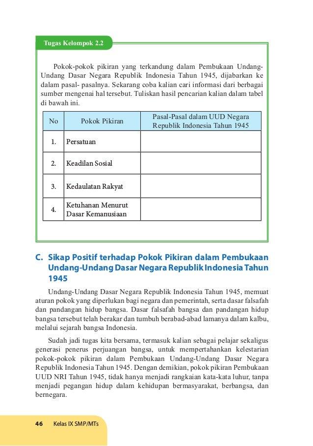 Buku Siswa Ppkn Kelas Ix Edisi Revisi 2017