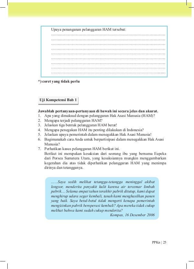 Setelah Anda membaca kesaksian Ibu Eupeka di atas, bagaimana tanggapan kalian  mengenai hal-hal berikut:  a. Menurut anali...