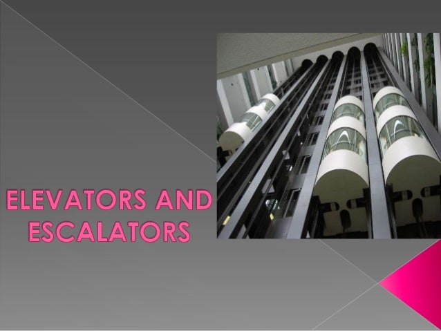            An elevator is a type of vertical transport equipment. Elevators are generally powered by electric motor...