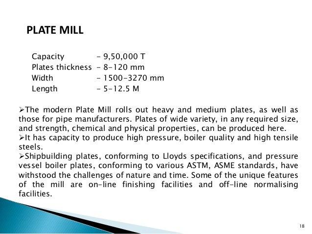Bhilai Steel Plant Training Presentation