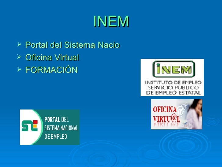 B squeda de empleo por cuenta ajena for Oficina virtual sistema red