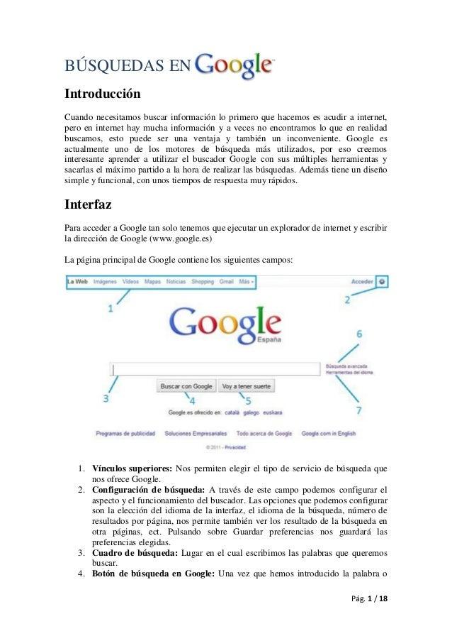 BÚSQUEDAS EN Introducción Cuando necesitamos buscar información lo primero que hacemos es acudir a internet, pero en inter...