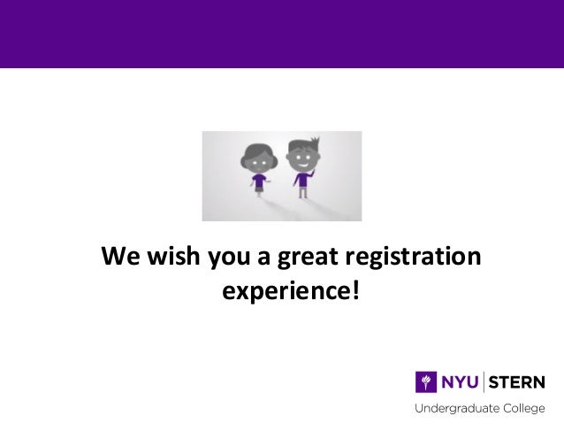Class of 2022 - BS in Business Registration Slideshow