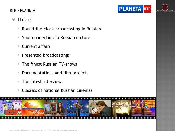 Tv Channel Rtr Planeta