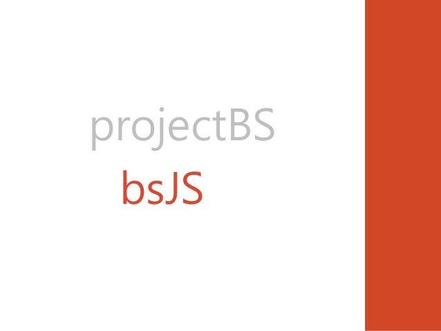 projectBS bsJS??
