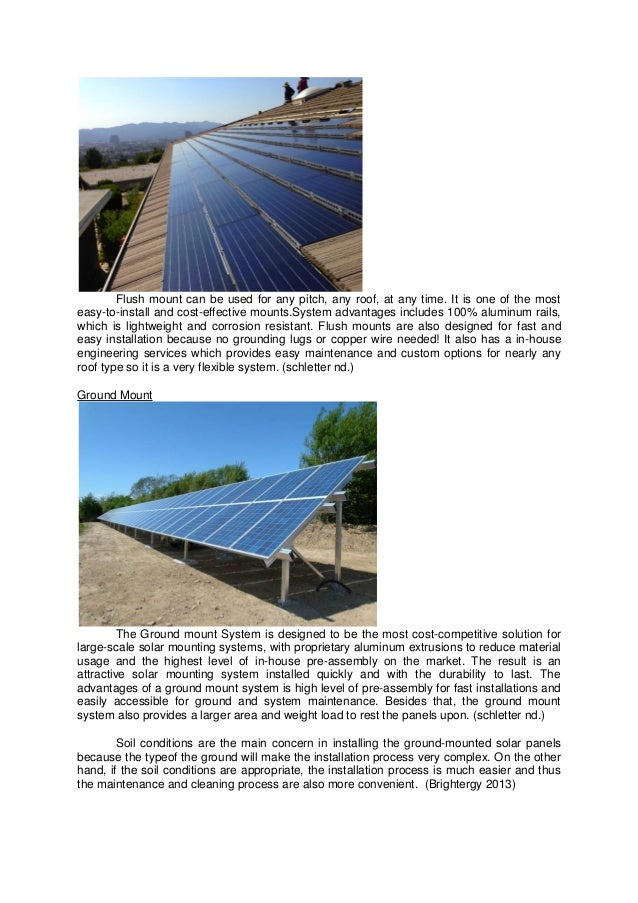 Bs Solar Energy Report