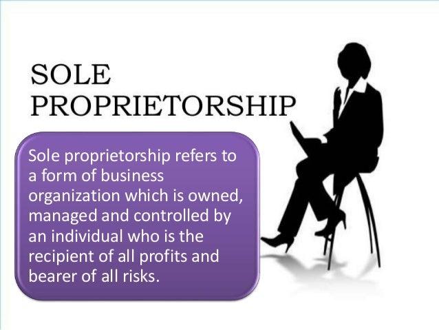 sole proprietorship partnership