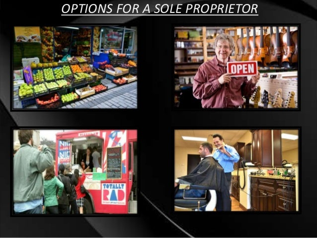 sole proprietorship and partnership