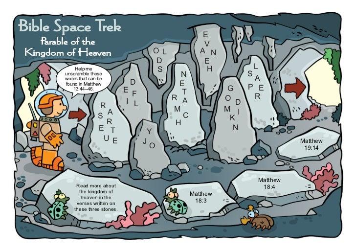 Bible Space Trek                                                 E   Parable of the                                       ...