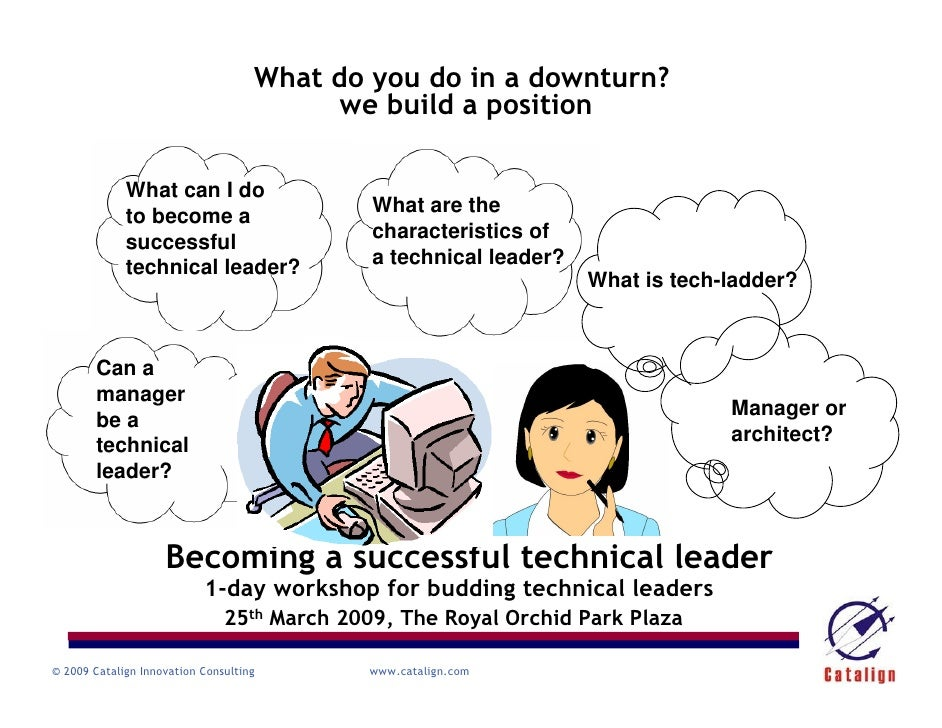 Becoming a successful technical leader