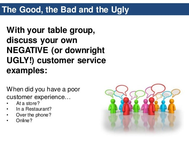 Bsu customer service workshop march 2014