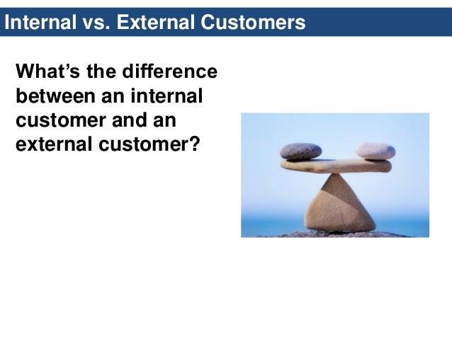 internal versus external customers starbucks Internal and external factors affecting starbucks  of their internal set up and the external  starbucks-opens-drive-coffee-shop-customers.