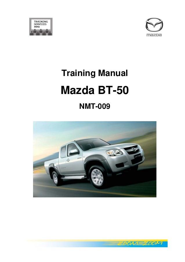 bt 50 en repair manual rh slideshare net manual de taller mazda bt 50 español Mazda BT-50 2008