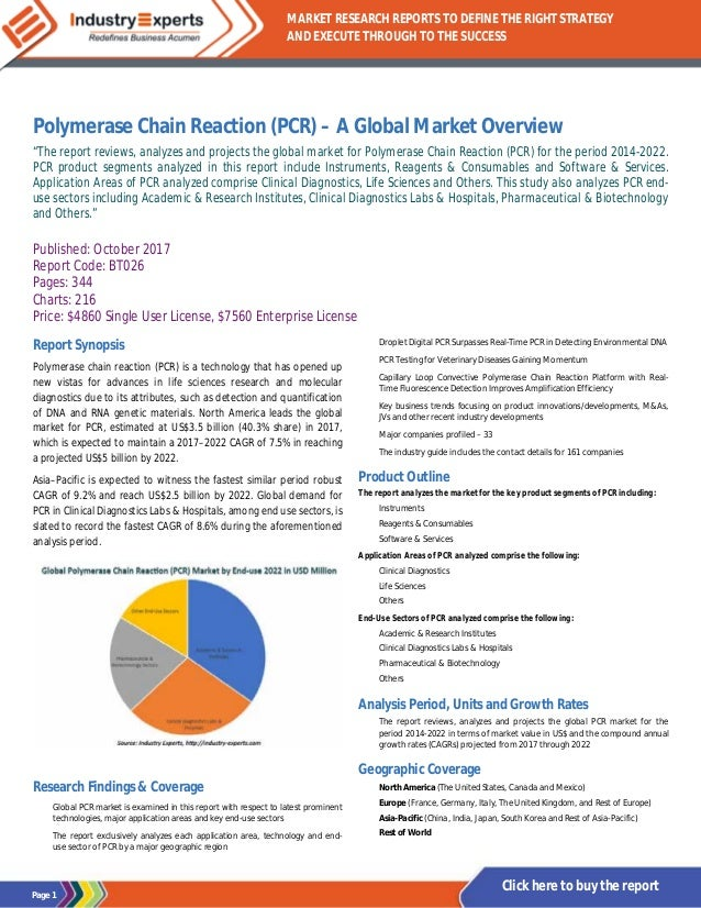 polymerase chain reaction report