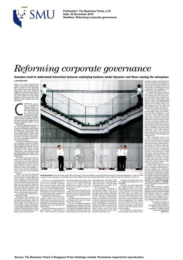 Publication: The Business Times, p 23                                                                              Date: 2...