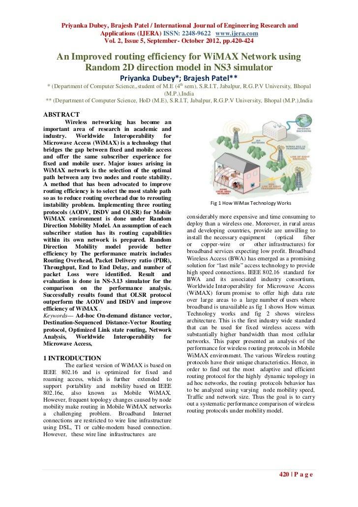 Priyanka Dubey, Brajesh Patel / International Journal of Engineering Research and                   Applications (IJERA) I...