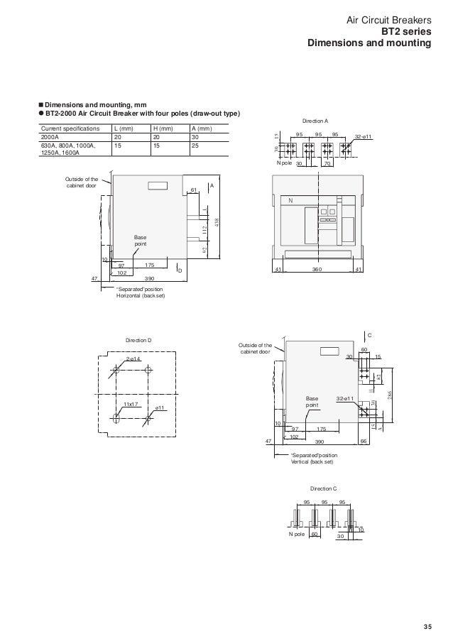 air circuit breakers bt2 series