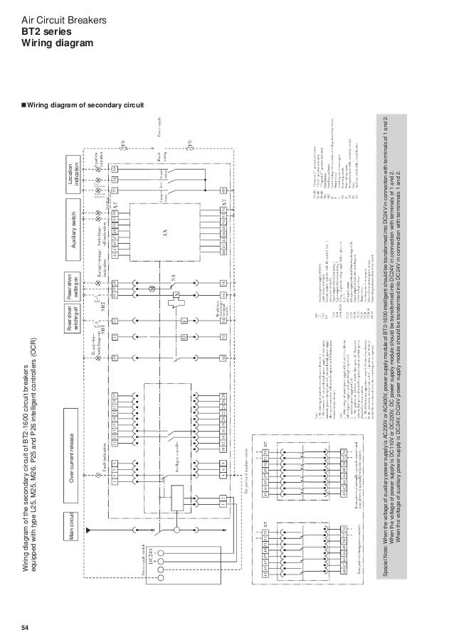 Wiring Diagram Of A Circuit Breaker : Air circuit breaker wiring diagram