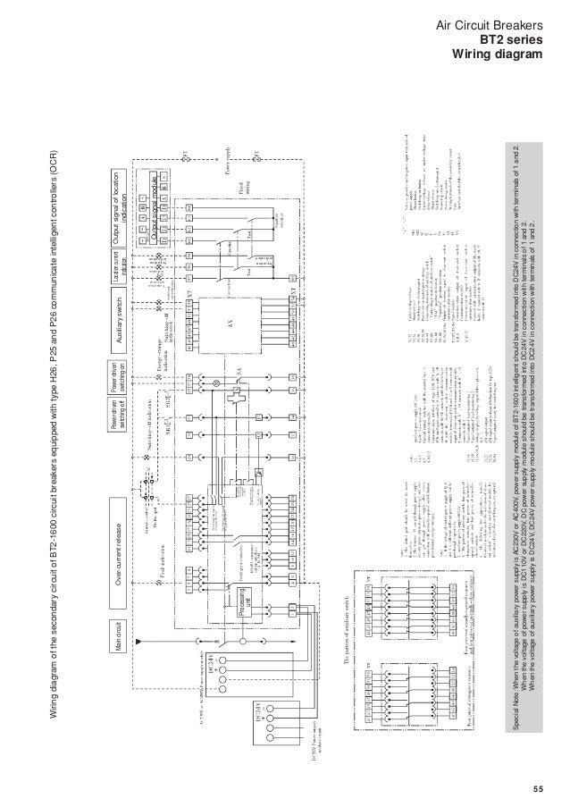 air circuit breakers bt2 series rh slideshare net Breaker Box Wiring Diagram abb air circuit breaker wiring diagram