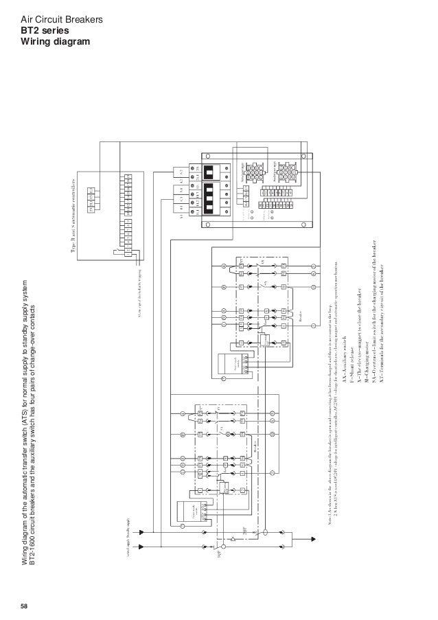 air circuit breakers bt2 series Electrical Service Panel Diagram wiring diagram; 59 58 air circuit breakers