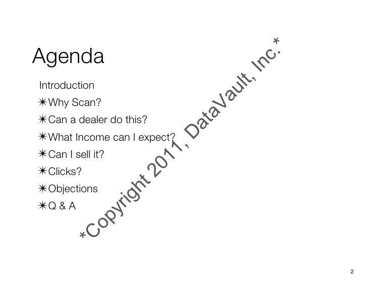 MFP Dealer Scanning Talk Slide 2