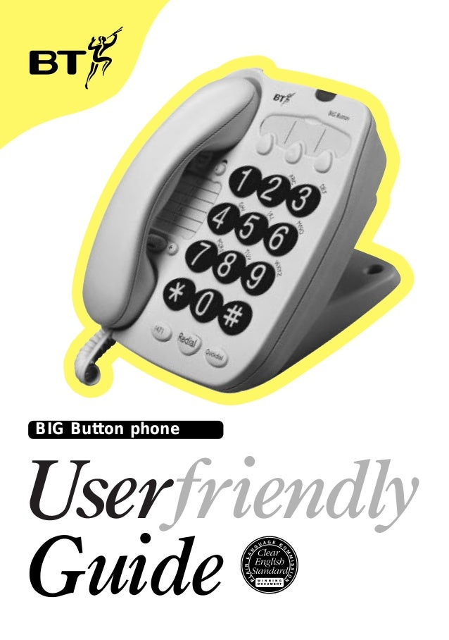 Bt decor 1300 corded telephone manual